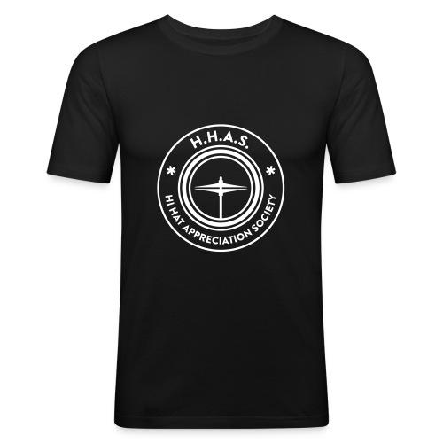 H.H.A.S. T-shirt w. logo - Slim Fit T-shirt herr