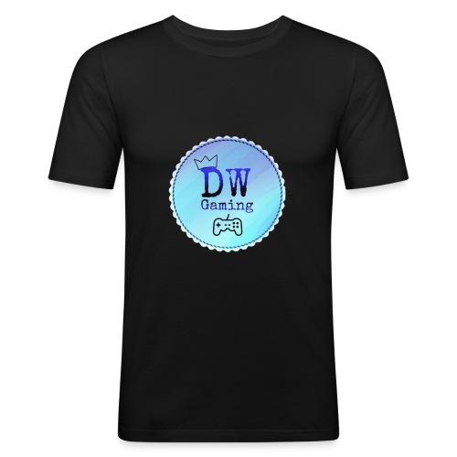 dw logo - Men's Slim Fit T-Shirt
