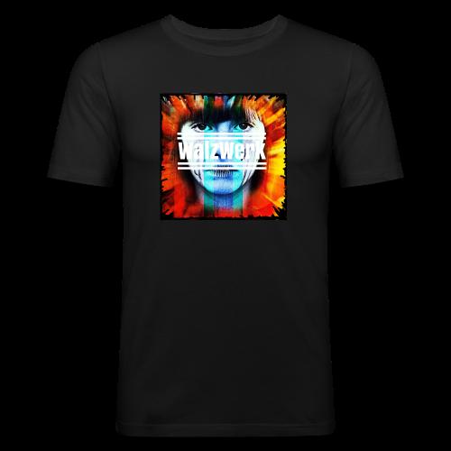 Cover + Slogan WalzWerk - Männer Slim Fit T-Shirt