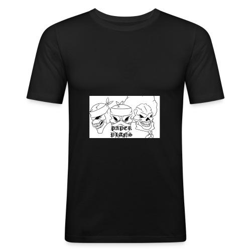 Paper Plans - Men's Slim Fit T-Shirt