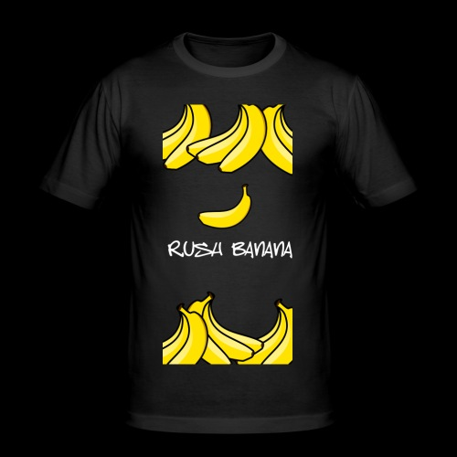 rushbananawhite - Obcisła koszulka męska