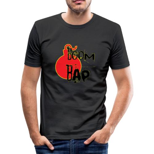 Boom Bap - Men's Slim Fit T-Shirt