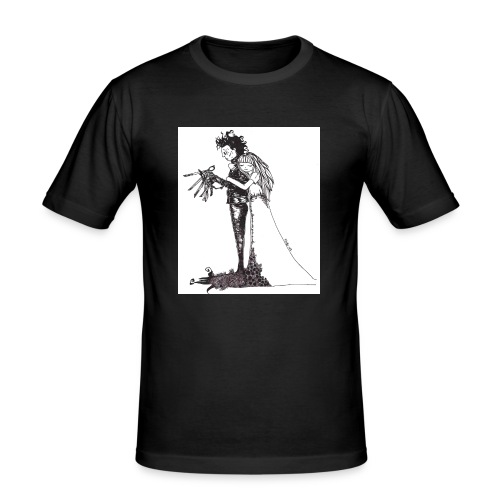EdwardScissorhands.jpg - Men's Slim Fit T-Shirt