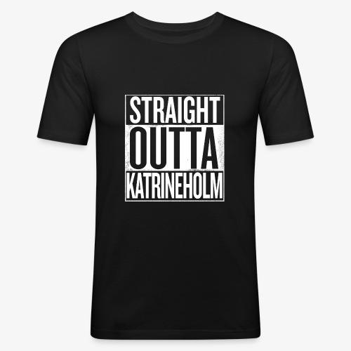 Straight Outta Katrineholm - Slim Fit T-shirt herr