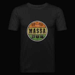 Logo de Massa Dub - Tee shirt près du corps Homme
