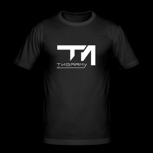 TNG NEW WITHE - Männer Slim Fit T-Shirt