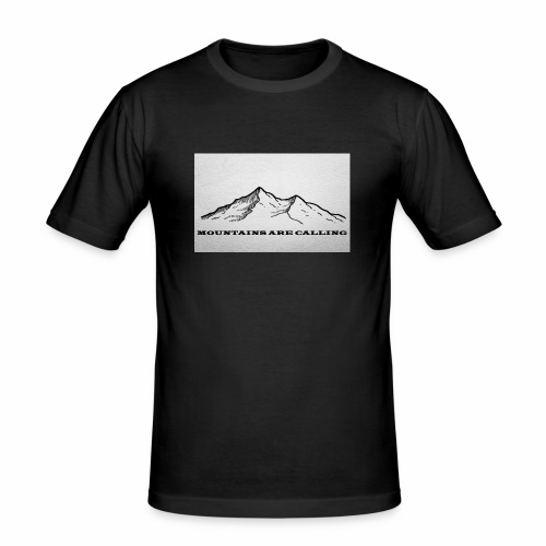 Mountains are calling - Männer Slim Fit T-Shirt