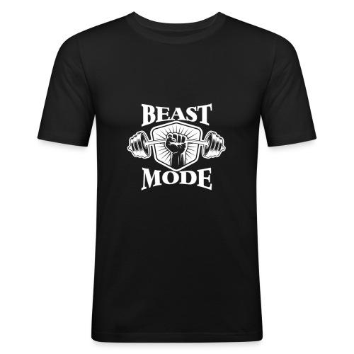 Beast Mode II - Männer Slim Fit T-Shirt
