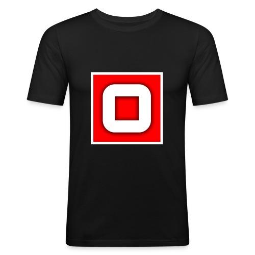 Vanlig Logo (tonåring) - Slim Fit T-shirt herr
