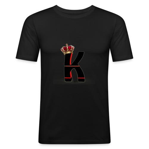 Krypton Logo - Männer Slim Fit T-Shirt