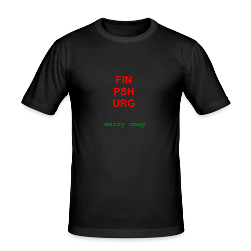 Merry nmap - Men's Slim Fit T-Shirt