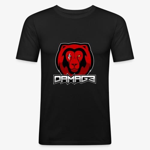 Damag3 Logo - Men's Slim Fit T-Shirt
