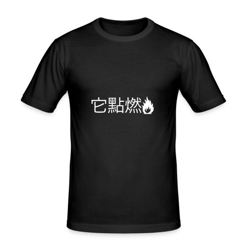 It's Lit - Men's Slim Fit T-Shirt