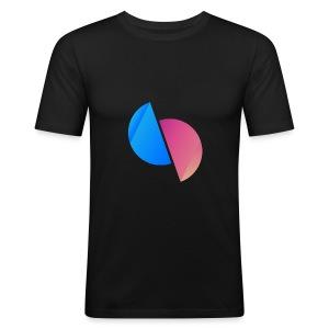 Ediplace logo färg - Slim Fit T-shirt herr