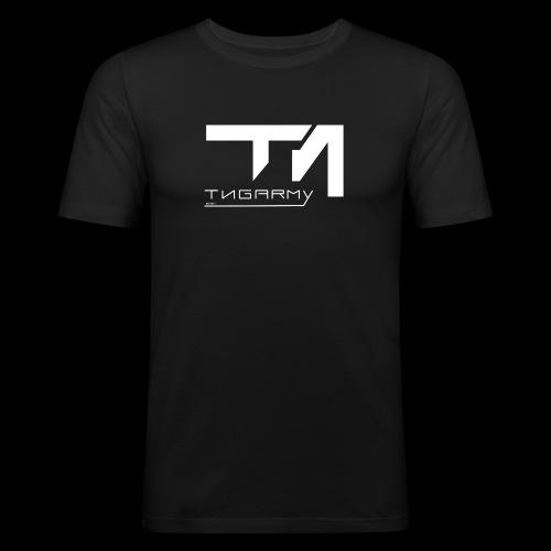 TNG NEW WITHE - Männer Slim Fit T-Shirt