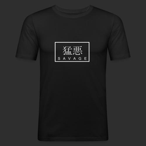 SAVAGE original - Männer Slim Fit T-Shirt