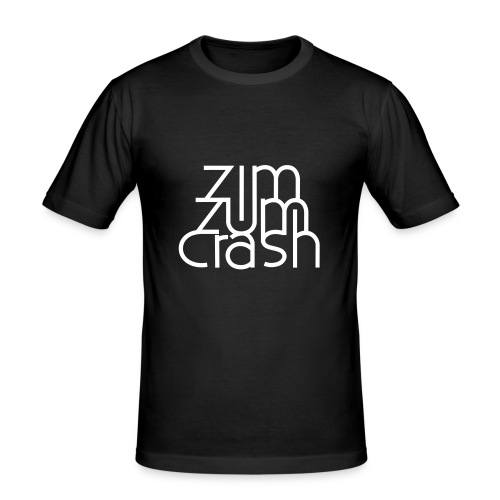 Zim Zum Crash Band Shirt - Männer Slim Fit T-Shirt