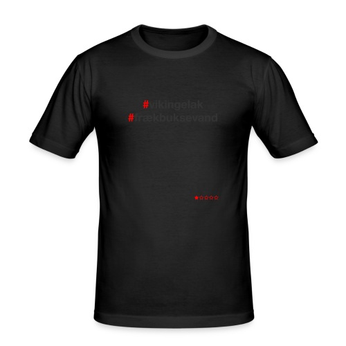 Hashtag - Herre Slim Fit T-Shirt