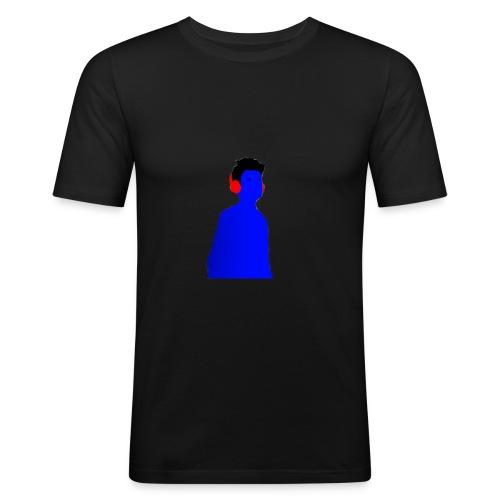 BluenticPic - Maglietta aderente da uomo