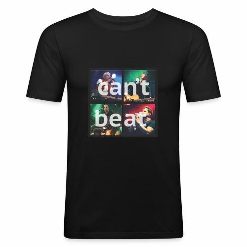 can't beat - Männer Slim Fit T-Shirt