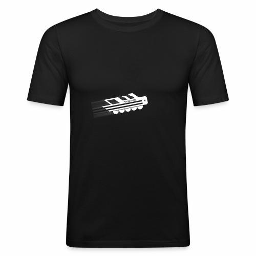 EcoLogonew - Männer Slim Fit T-Shirt