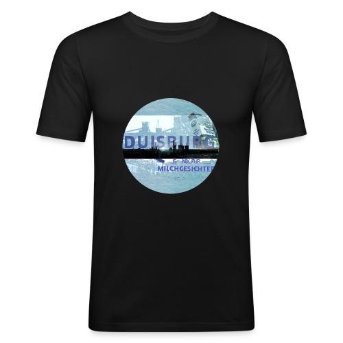 Duisburg ist nix für Milchgesichter - Männer Slim Fit T-Shirt