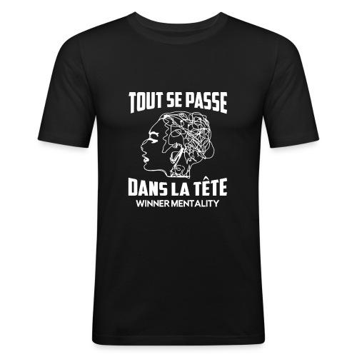 T-shirt motivation - T-shirt près du corps Homme