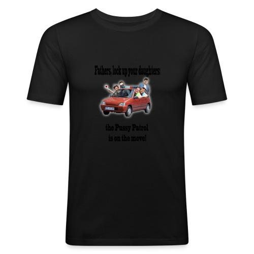 Pussy patrol - Obcisła koszulka męska