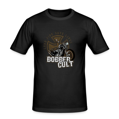 Bobber Cult - Männer Slim Fit T-Shirt