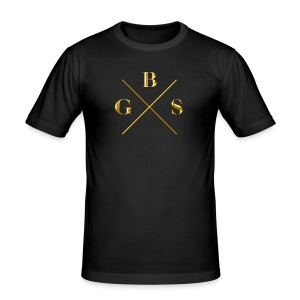 GBS Gold Edition - Herre Slim Fit T-Shirt