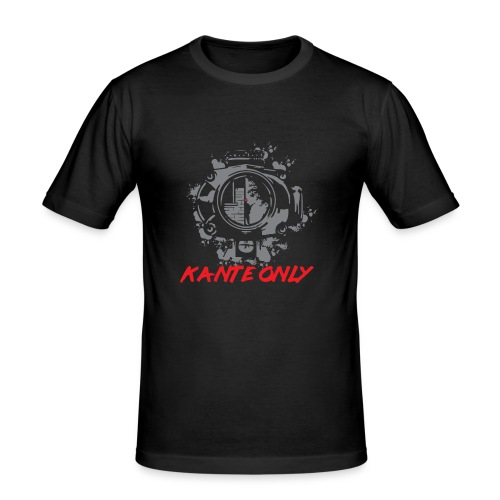 Kante Only Shirt - Männer Slim Fit T-Shirt