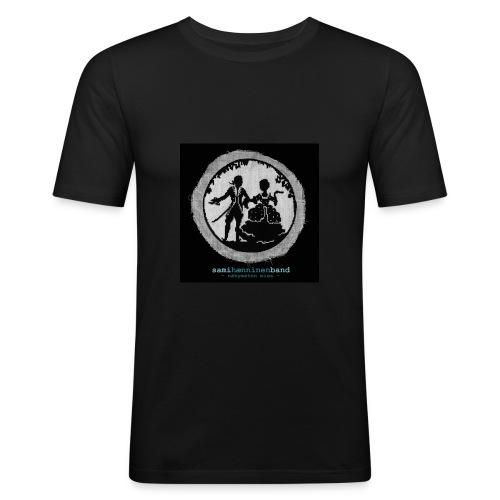 SHB - Näkymätön mies - Miesten tyköistuva t-paita