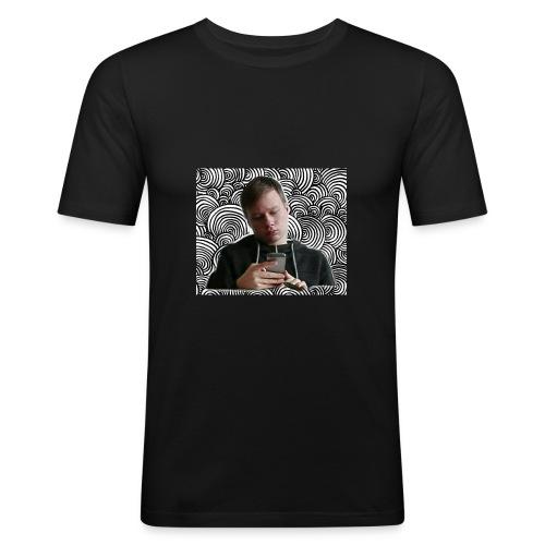 Anton Kunkel - Männer Slim Fit T-Shirt