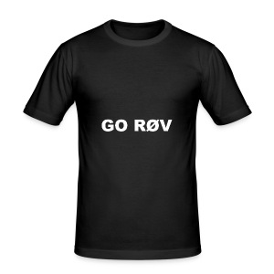 GO RØV - Herre Slim Fit T-Shirt