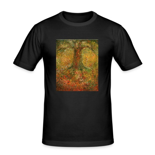 Invisible Tree - Obcisła koszulka męska