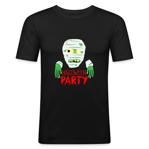 Zombie Halloween Party - Männer Slim Fit T-Shirt
