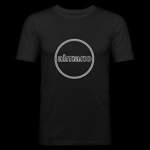 almanocircleX - Männer Slim Fit T-Shirt