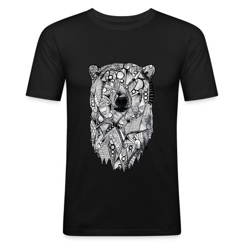 Isbjørn - Slim Fit T-skjorte for menn