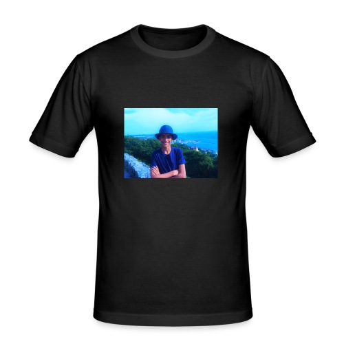 badr_saber - Slim Fit T-shirt herr