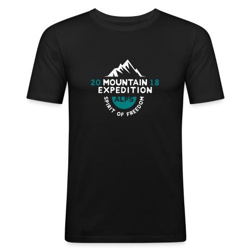 MOUNTAIN EXPECTION - ALPS - Maglietta aderente da uomo