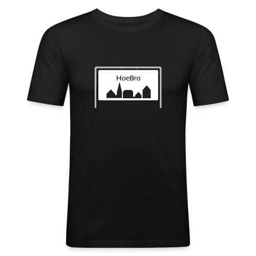 Hoebro - Herre Slim Fit T-Shirt