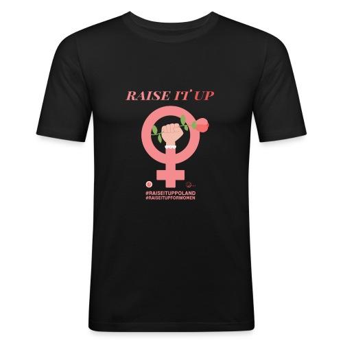 Raise It Up - Men's Slim Fit T-Shirt