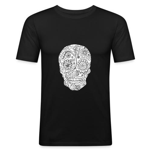 Sugar Skull - Tee shirt près du corps Homme
