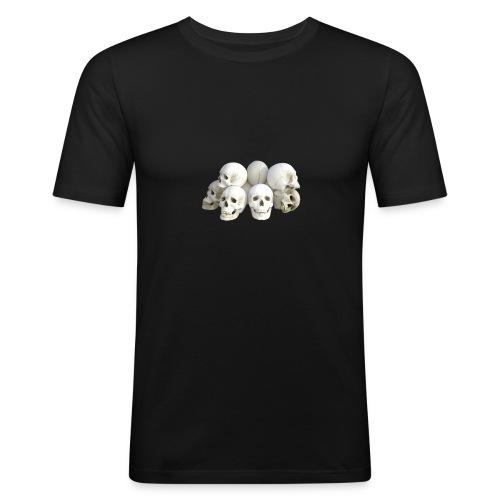 Calaveras - Camiseta ajustada hombre