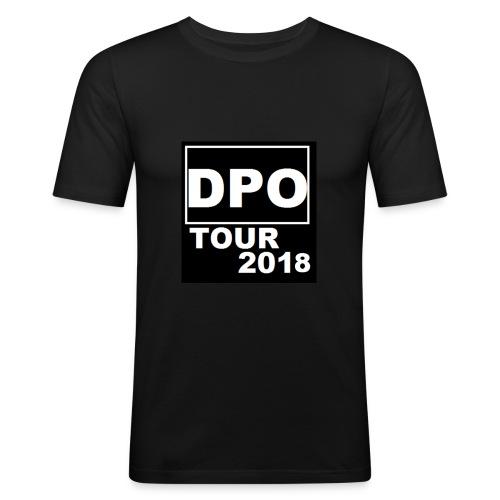 DPO SHOP ABSCHIEDS TOUR 2018 - Männer Slim Fit T-Shirt