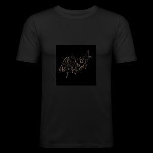 -Logo Qrust- - Tee shirt près du corps Homme