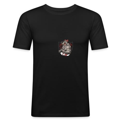 mouse logo - Men's Slim Fit T-Shirt