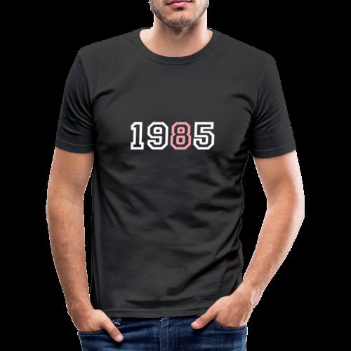 1985 - Camiseta ajustada hombre