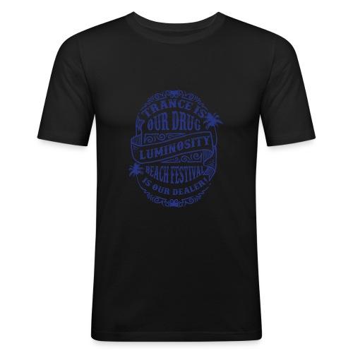 Trance is our drug - Luminosity Beach Festival - Men's Slim Fit T-Shirt