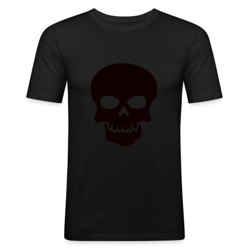 Skeleton-Style - Slim Fit T-skjorte for menn